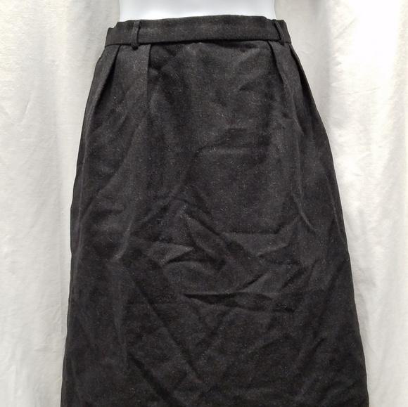 Burberry Dresses & Skirts - Burberry Black Wool Skirt